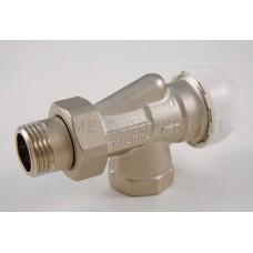 3313 Осевой термостатический вентильный кран, с соединением для стальных труб.