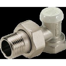 Клапан радиаторный угловой Tiemme EXCEL для стальных труб 1/2