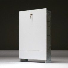 Шкаф для коллектора встраиваемый до 16 отводов 670x125x1044 мм