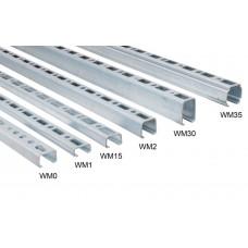 Профиль монтажный Walraven BIS RapidRail WM0 (pg) 27x18х1,2х2000 мм