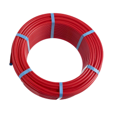 Трубаиз сшитогойполиэтилена HoobsPEXa/EVOH c антикислородным слоем16х2.0цветкрасный(бухта200м)