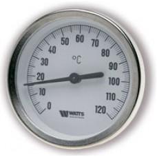 Термометр биметаллический WATTS F+R801 OR (TAS) с погружной гильзой