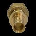 Переход Hoobs с накидной гайкой на плоское уп. 20x2.8-G3/4