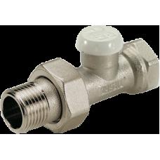 Прямой выпускной вентиль Tiemme EXCEL для соединения радиатора с металлической трубой 1/2