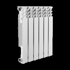 Радиатор алюминиевый SMART Install Easy One 500/8 16 бар