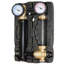 Насосная группа Hoobs DN 25 с термосмесителем без насоса, 20-45 °С