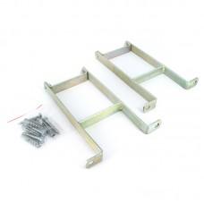 Комплект креплений гидравлической стрелки Smart Install, сталь (2шт.)
