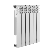 Радиатор алюминиевый SMART Install Easy One 500/12 16 бар
