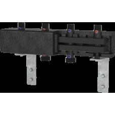 Коллектор стальной BRV CD70/125 на 2 выхода до 70 кВт в теплоизоляции, длина 550мм