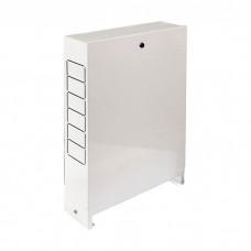 Шкаф для коллектора наружный до 10 отводов 651х120х704 мм