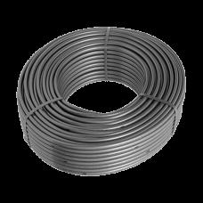 Трубаиз сшитогойполиэтилена HoobsPEXa/EVOH c антикислородным слоем16х2,2 цвет серый (бухта120м)