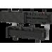 Коллектор стальной BRV CD70/125 на 4 выхода до 70 кВт в теплоизоляции, длина 1050мм